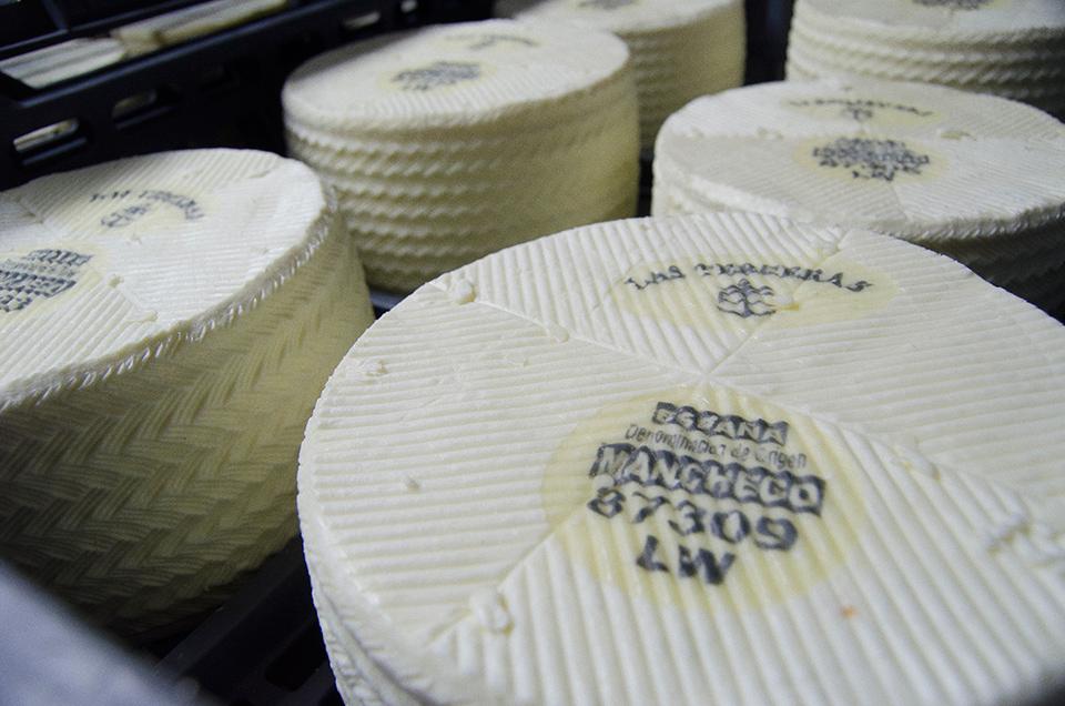 Maduración de nuestro queso manchego gourmet