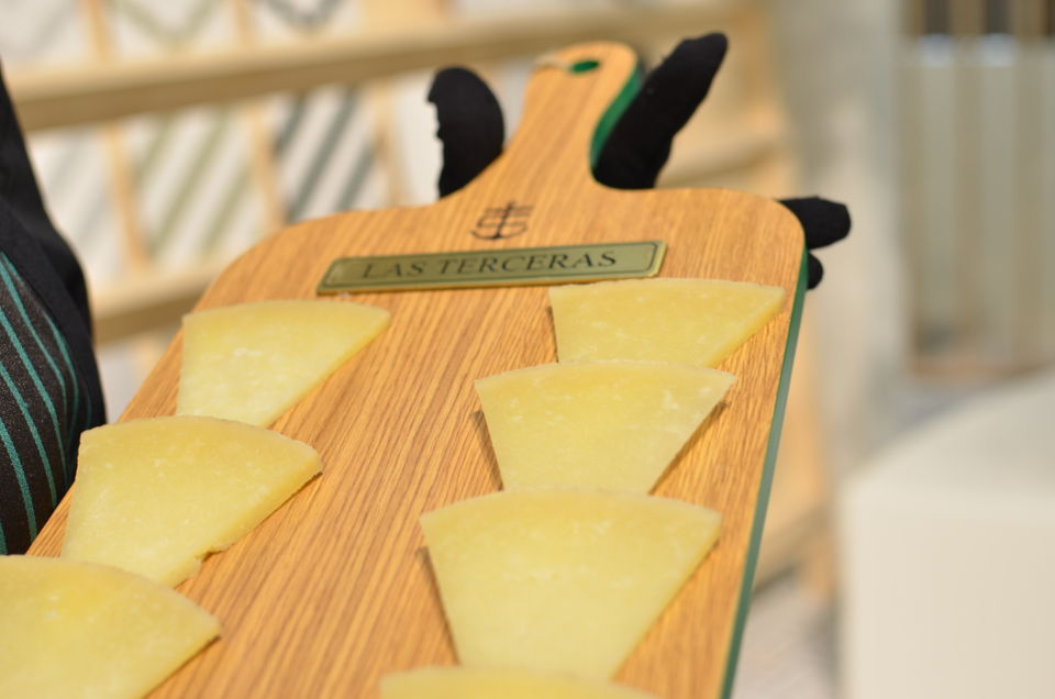 Degustación de queso manchego en Feria Valencia