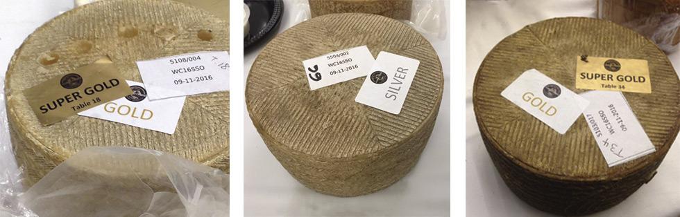 Degustación por parte del jurado de nuestro queso manchego para el WCA 2016