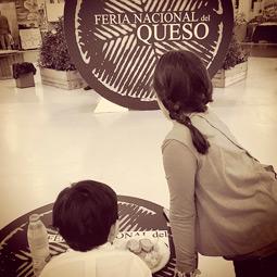 Blog de gastronomía que nos visito en la Feria Nacional del queso de Manzanares