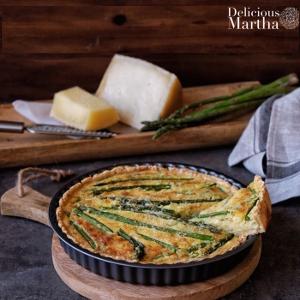 Quiché con verduras y queso manchego Las Terceras