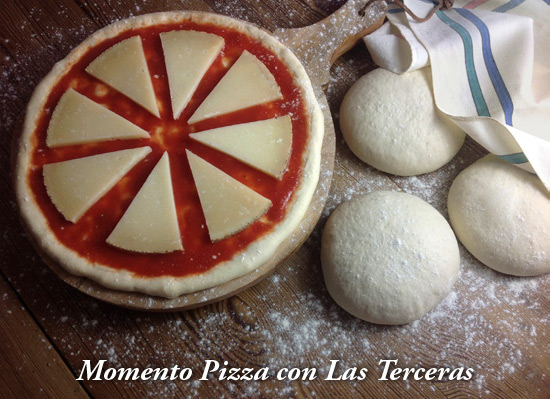 Momento Pizza con Las Terceras