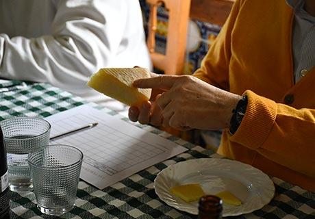 Degustación de queso manchego en Las Terceras