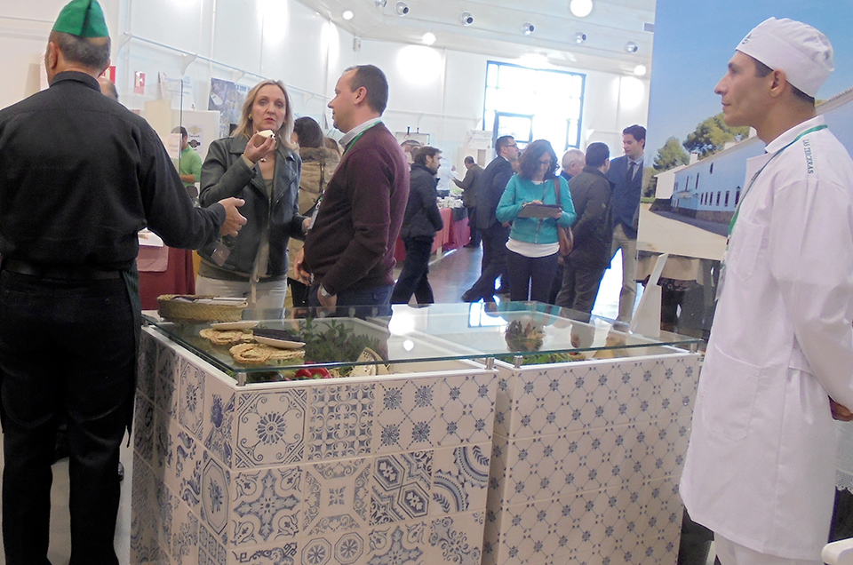 Stand de Las Terceras en la II Feria Nacional del Queso de Manzanares