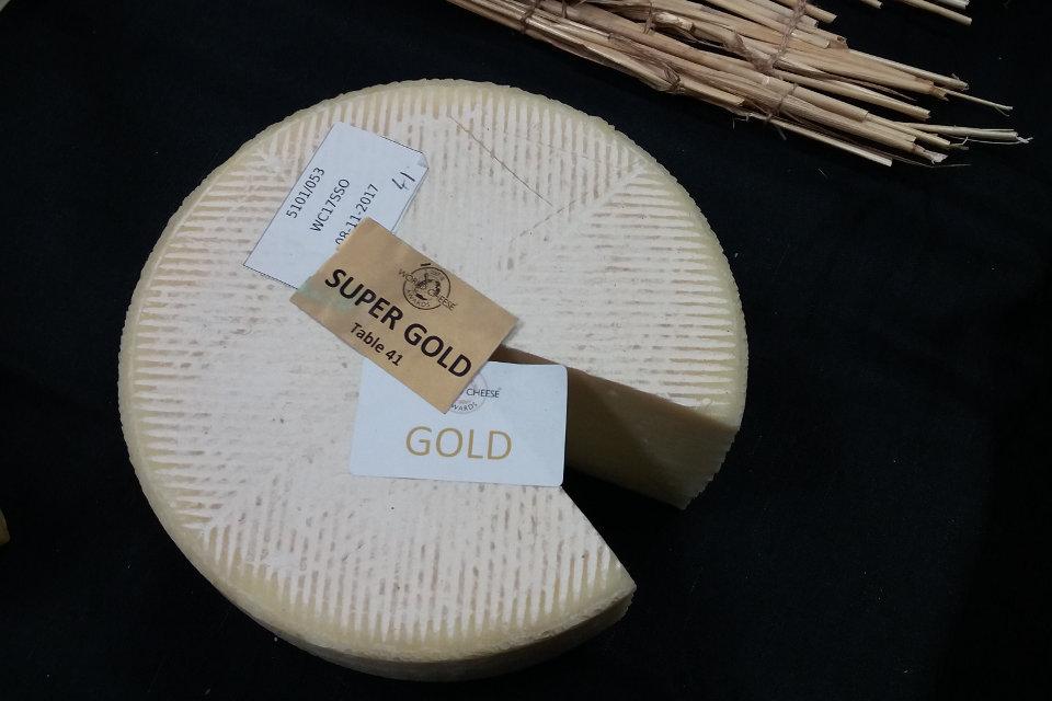 Queso manchego Las Terceras en el World Cheese Awards 2017