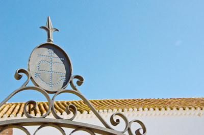 Detalle en el techo del edificio de Las Terceras
