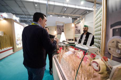 Quesos manchegos artesanales Las Terceras en Feria Barcelona