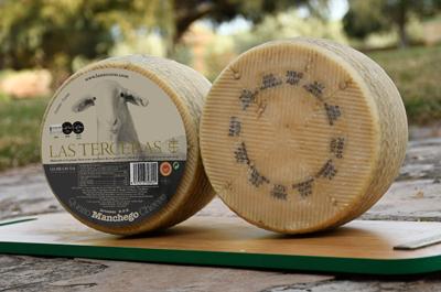 Corteza natural de nuestro queso manchego D.O.P.