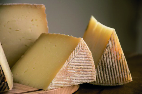 Presentación de queso manchego Las Terceras